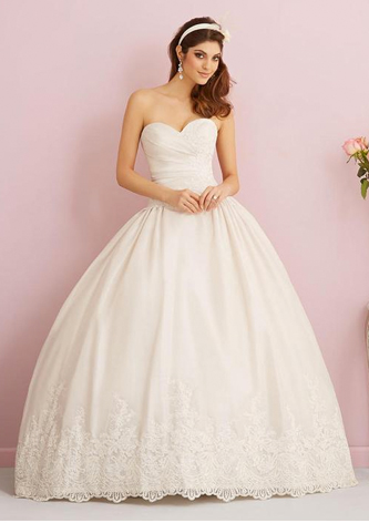 preowned allure 2766 wedding dress