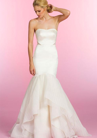 preowned hayley paige wedding dress
