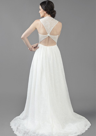 preowned ivy and aster wedding dress