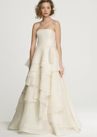 preowned jcrew emma wedding dress