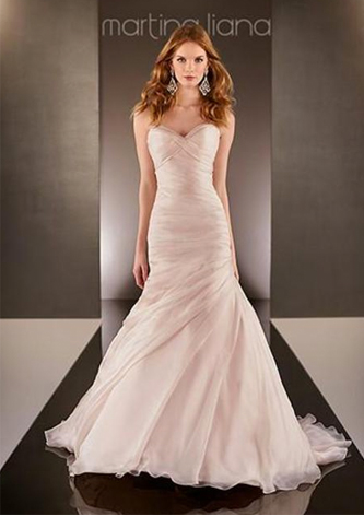 preowned martina liana 587 wedding dress