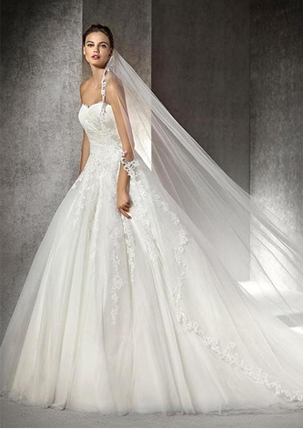 preowned st patrick argel wedding dress
