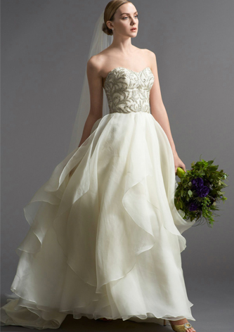 watters daniela wedding dress for sale