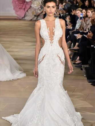 ines di santo vision wedding dress
