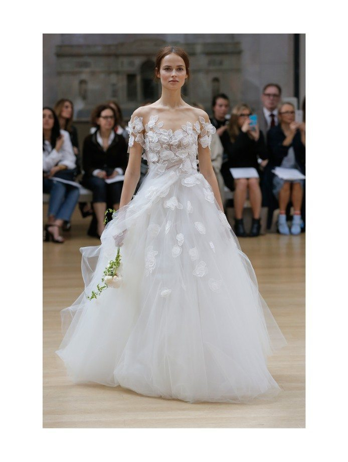 linden by oscar de la renta wedding gown