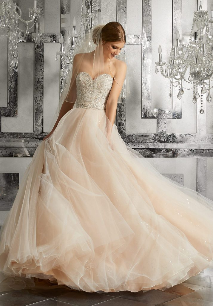 mystique by morilee wedding gown