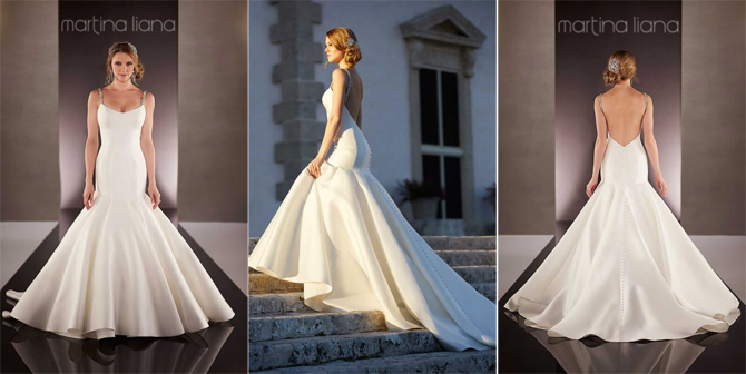 martina liana 735 wedding dress