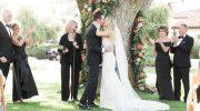 ines di santo real wedding