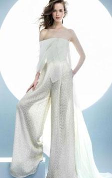 angel sanchez wedding pantsuit