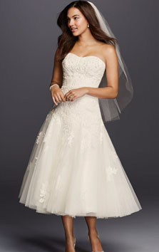 Oleg cassini wedding dress for sale