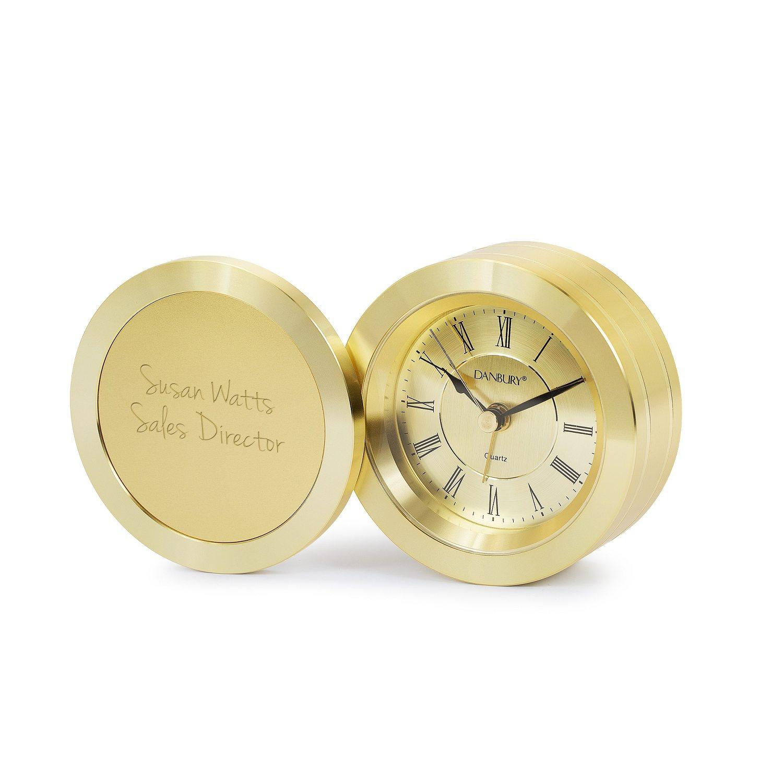 Round Swivel Clock