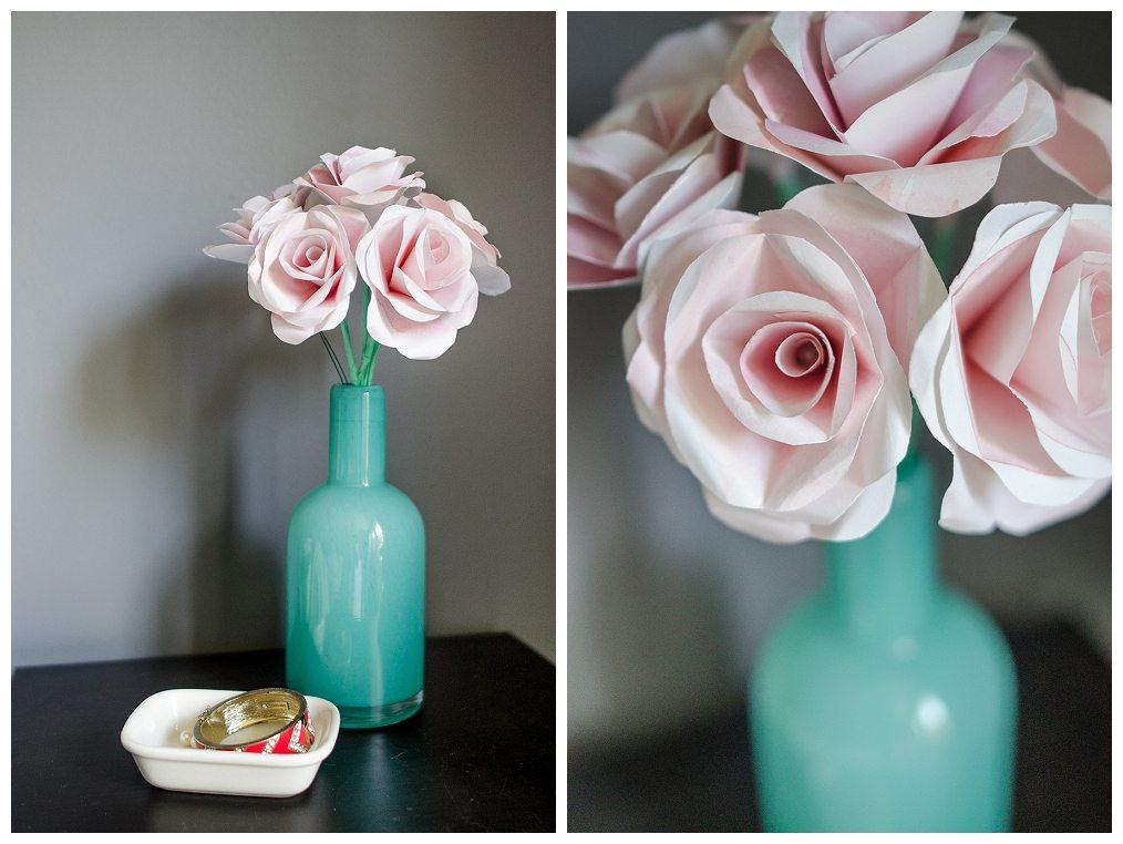 Watercolor Paper Roses