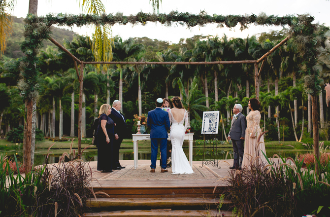 Berta Bridal Real Wedding