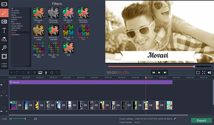 Movavi Video Editor review