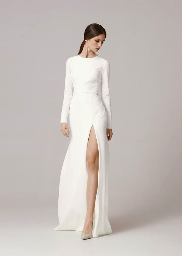Contemporary Wedding Gown