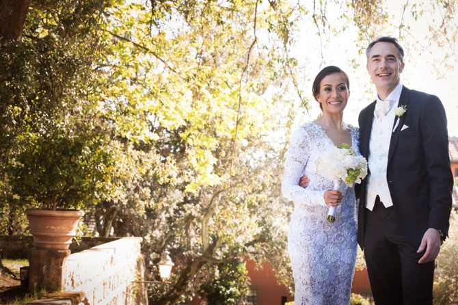 Berta real wedding from valeria santoni preowned wedding for Need to sell my wedding dress