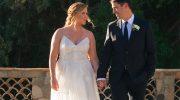 Amy Schumer Monique Lhuillier Wedding Dress