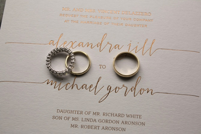 Alexandra + Michael | Reem Acra Real Wedding From Hechler Photography