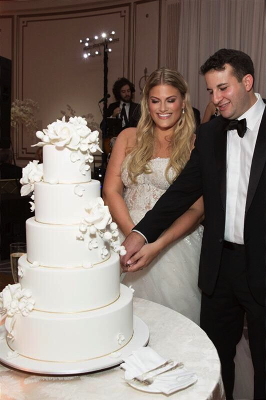 Reem Acra Real Wedding From Hechler Photography