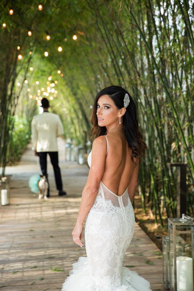 Pnina Tornai Real Wedding From Dana Lynn Photography