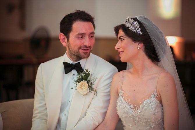 Inbal Dror Real Wedding | PreOwnedWeddingDresses.com