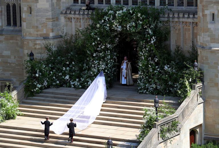 Meghan Markle Givenchy wedding dress