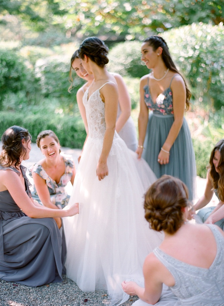 Samantha Kirk Photography Monique Lhuillier Real Wedding