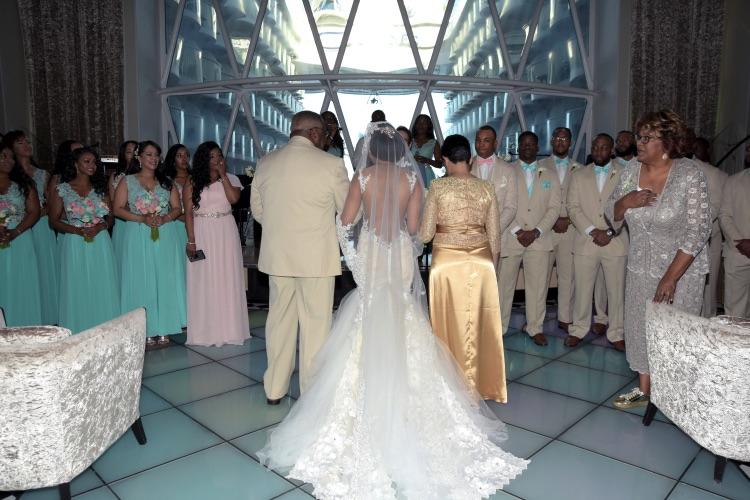 Monica Bernard Galia Lahav Real Wedding Preowned