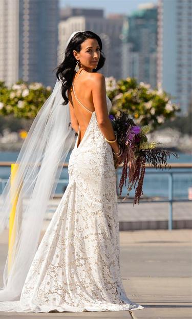 elizabeth fillmore wedding dress