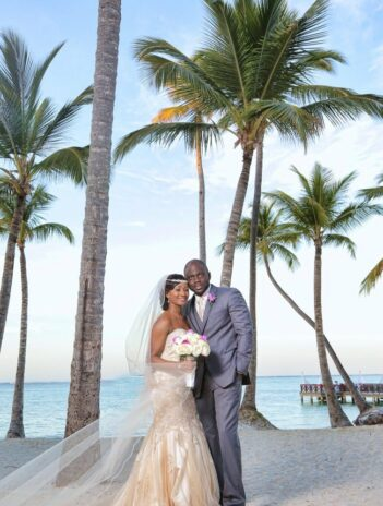 Newly Married couple marries at destination wedding