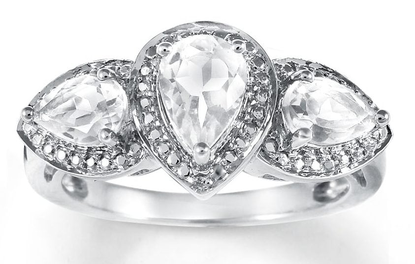 Jared Sapphire & Diamond Ring