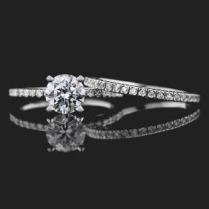 MiaDonna Marilyn Accented Engagement Ring