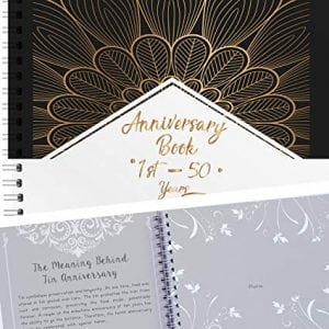 Anniversary Journal titled 1st - 50 years