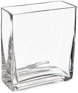 Glass Rectangle Vase