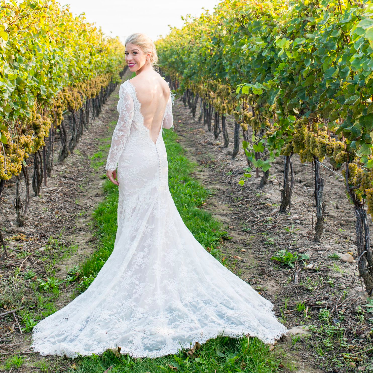 Martina Liana Lace wedding dress