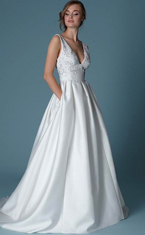Lela-Rose-Versaille wedding dress