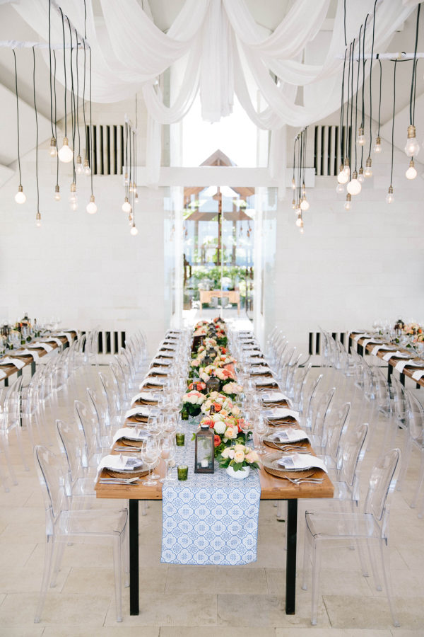 lucite chairs and decor