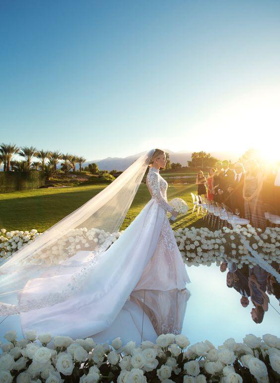 Mirrored Aisle Runner For Wedding