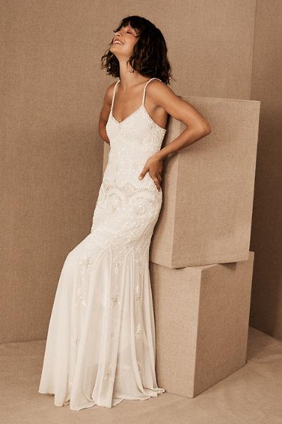 bhldn Naomi wedding gown