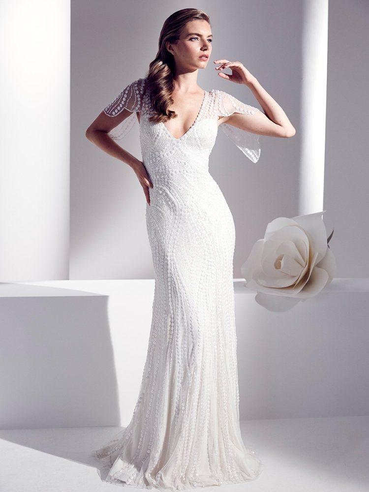 Jenny Packham wedding gown junipe