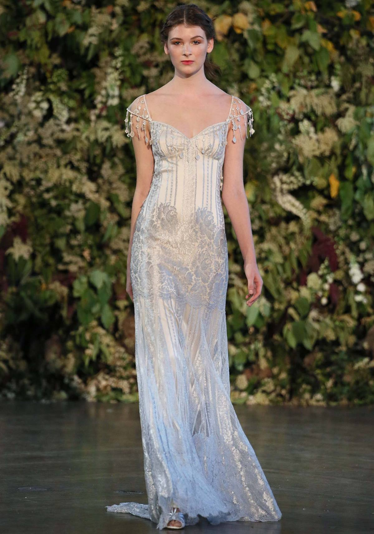 Florence French lace Claire pettibone gown