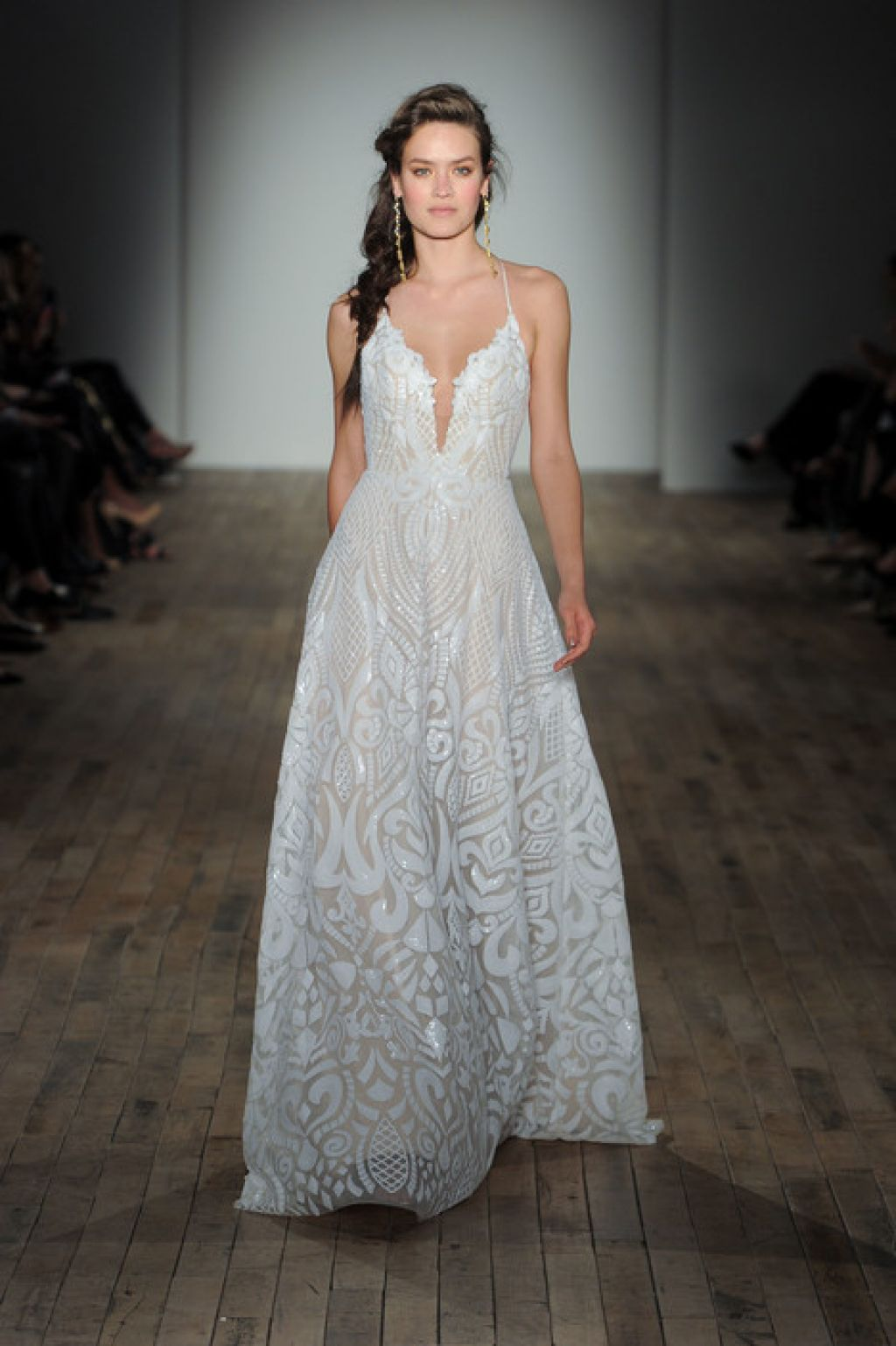 Hayley Paige Delta wedding dress