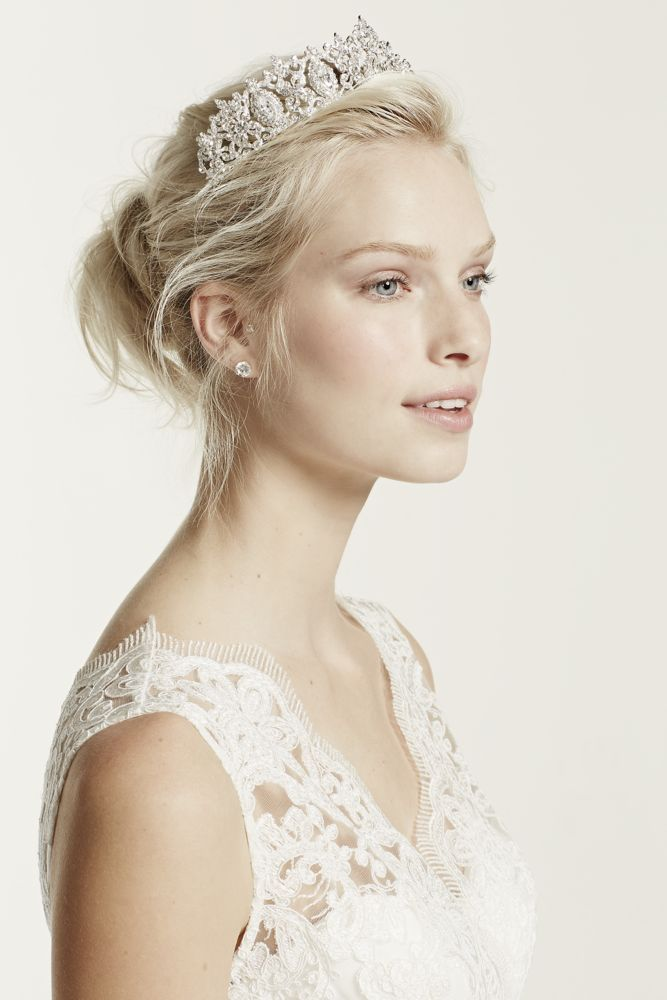 Regal tiara by David's Bridal