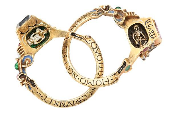 Renaissance gimmel rings