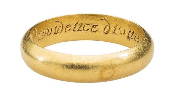Renaissance posy ring
