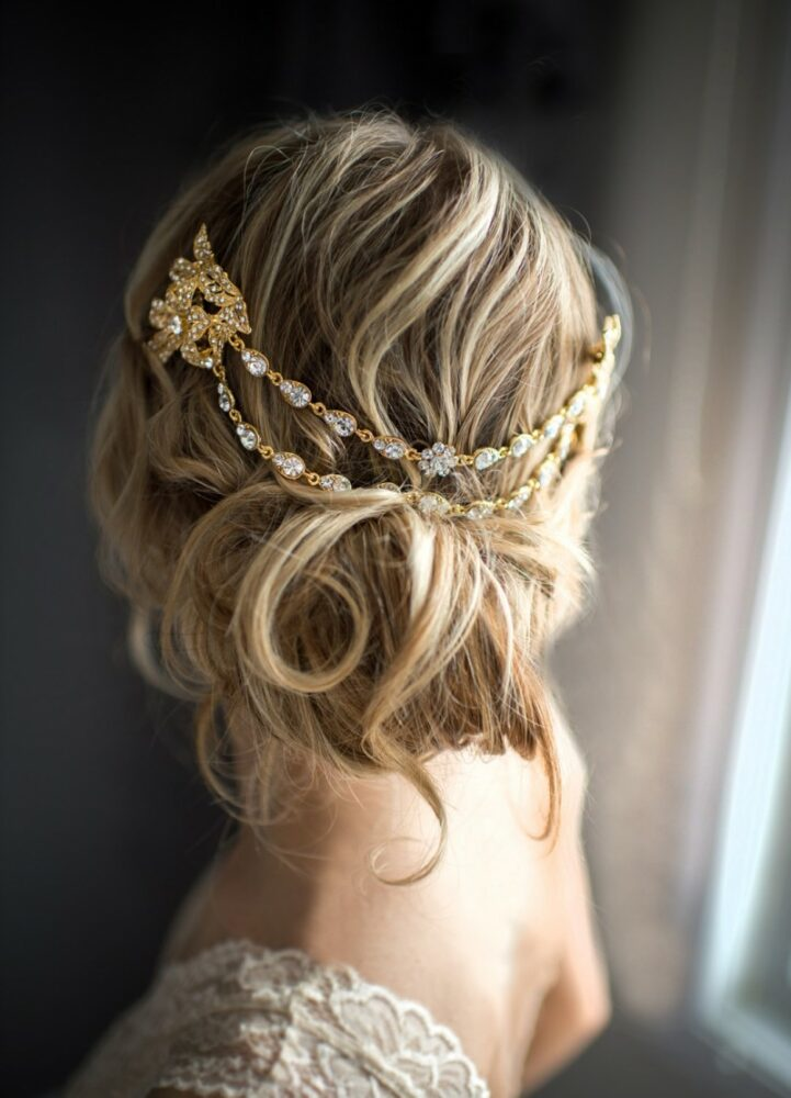 Bridal hairchain