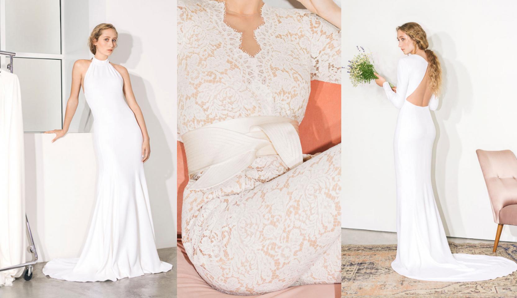 Stella McCartney dress collage