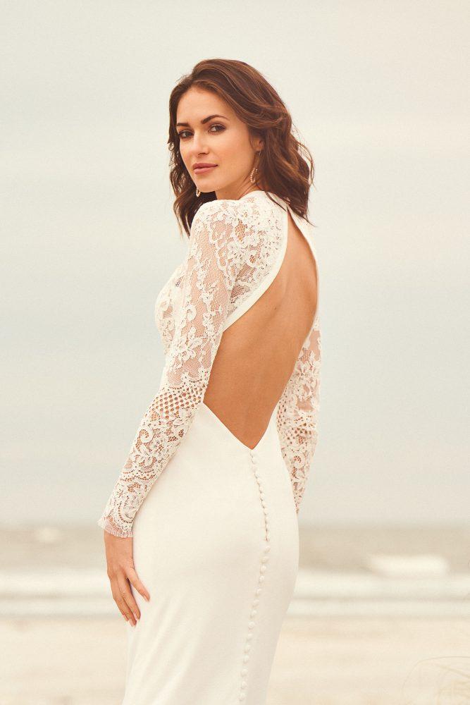 Lillian West 66096 wedding gown
