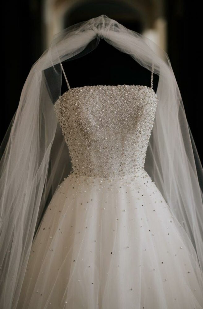 Thatcher wedding ballgown by Allison Webb