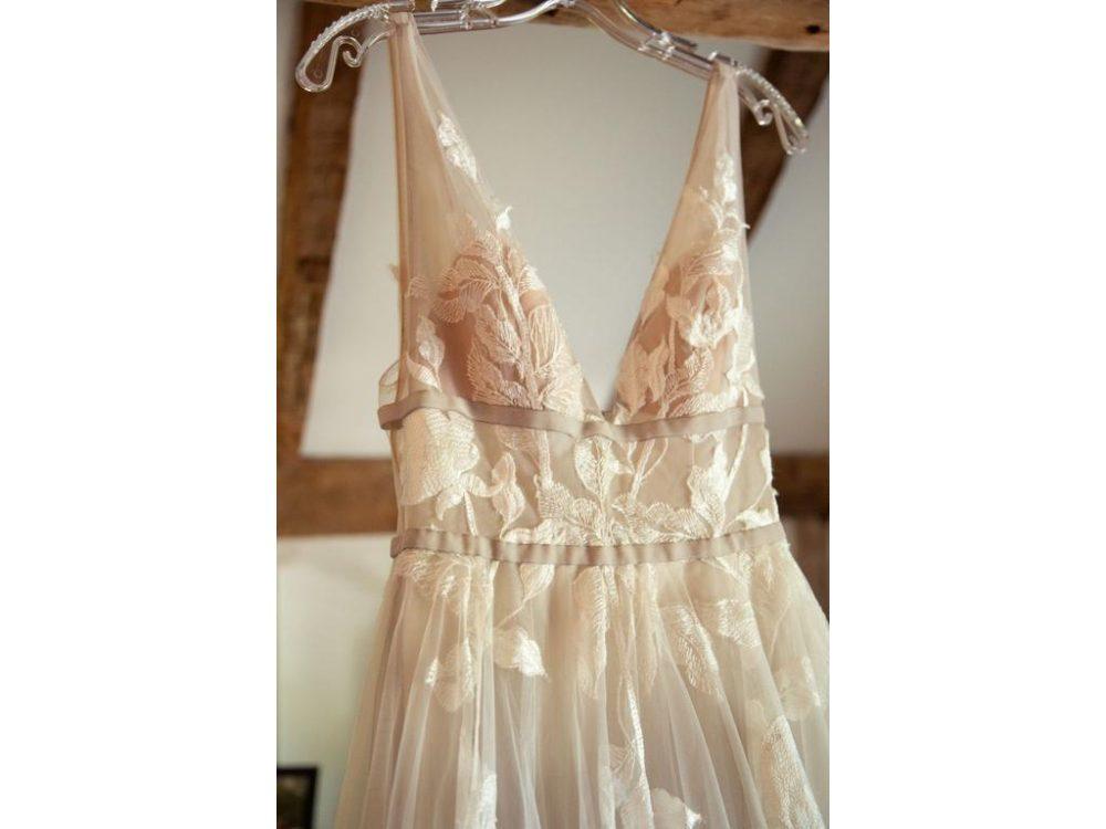 Hearst wedding gown by BHLDN